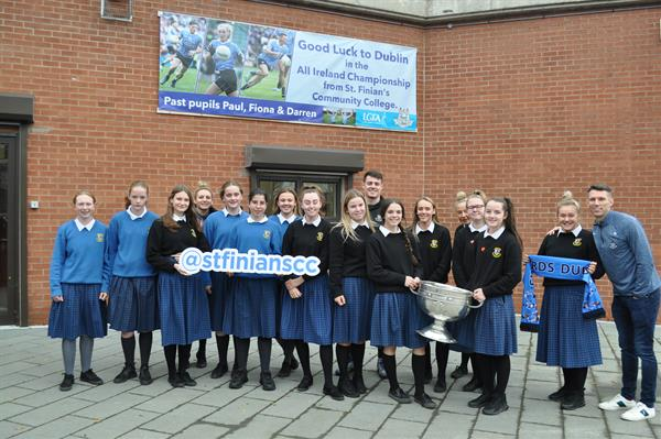 Dublin stars make appearance with Sam Maguire