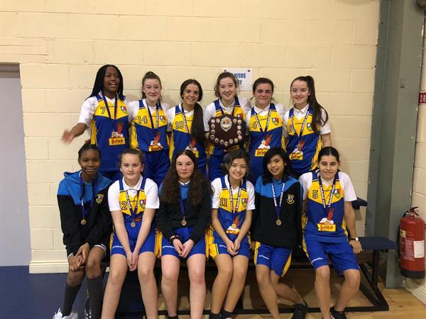 U16's Basketball team victorious in Dublin final