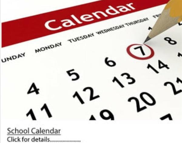 Student School Calendar 2020/2021 (Updated)