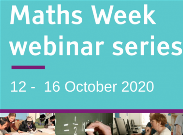 Free Numeracy Webinars for Adults (12th-16th October)