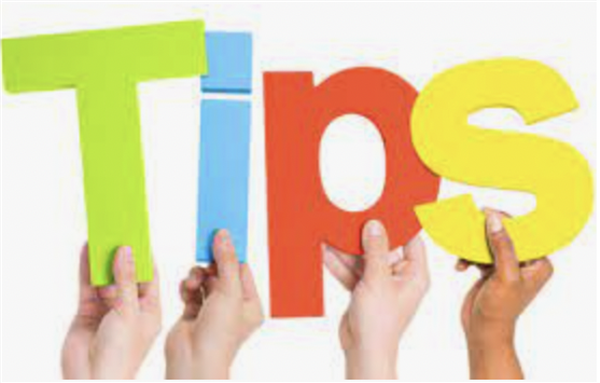 1st Year Parent's tips
